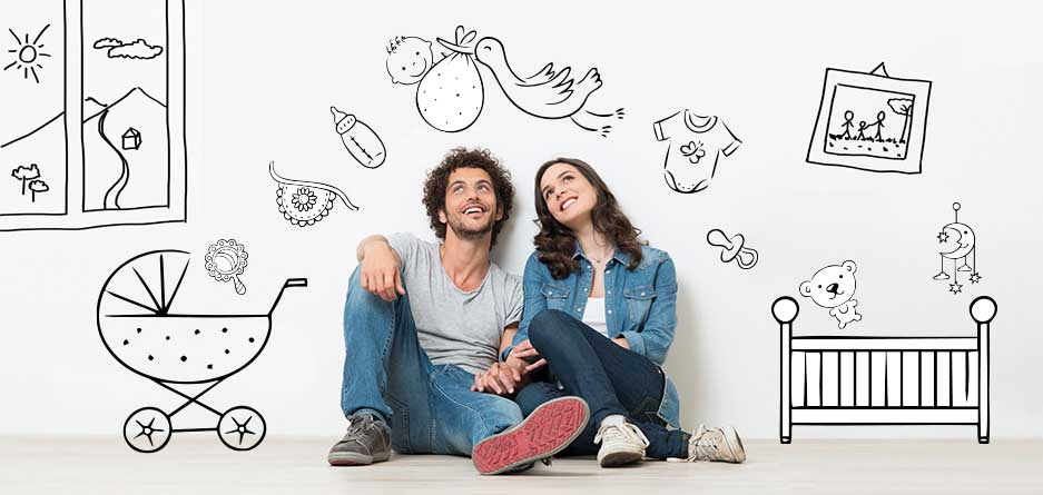 چند تصویر ذهنی برای زوجهایی که قصد دارند برای اولین بار بچهدار شوند