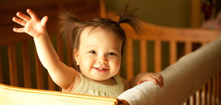 15 تا 18 ماهگی دورهی تغییر الگوی خواب بچهها