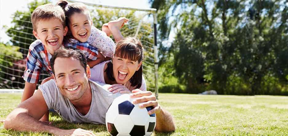 6 راه ساده و شاد برای نرمش و ورزش خانوادگی