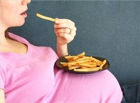 نتیجه تصویری برای اضافه وزن در دوران بارداری