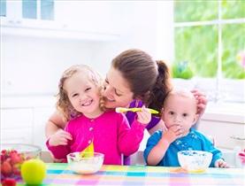 6 وعده غذا به علاوه شیر اضافی!